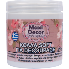 Κόλλα Soft για Decoupage Maxi Decor 250ml_CS22003367