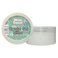 Crystal Gel Maxi Decor 100ml Διάφανο με Glitter_CG22003848